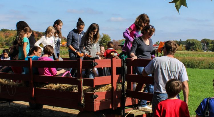 Hayride with people