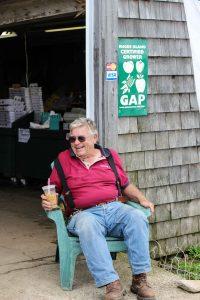 Farm owner Wayne Salisbury